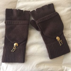 Juicy fingerless gloves with cover